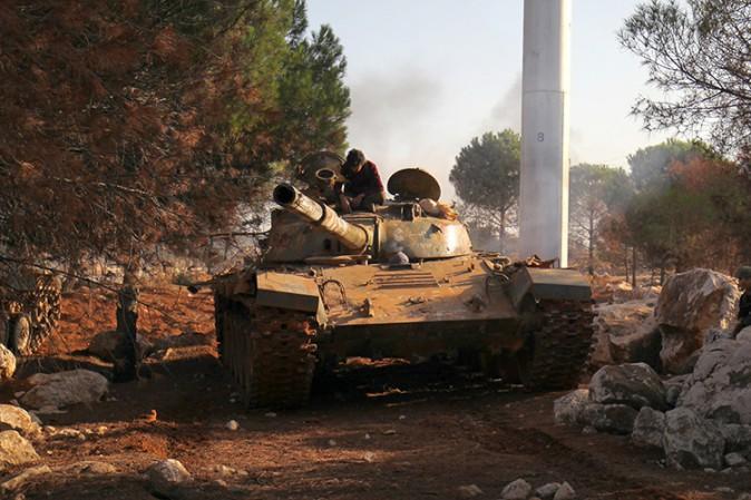 Siria: opposizione avanza ad ovest di Aleppo