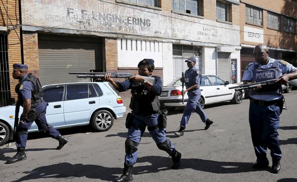 Polizia Sudafrica
