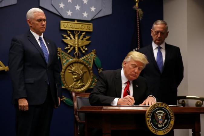 Trump:bando non è estremo,ma necessario