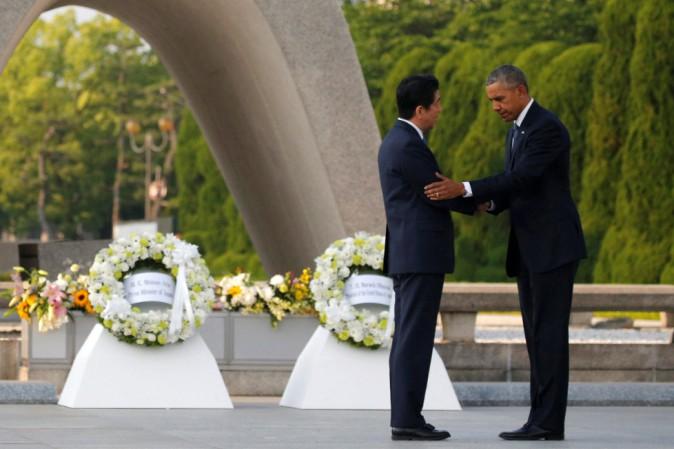 Storica visita del presidente Obama a Hiroshima