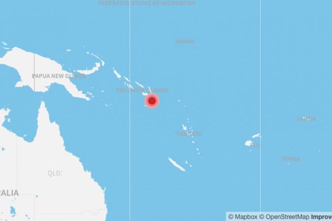 Terremoto di magnitudo 7.8 alle Isole Salomone: allerta tsunami anche alle Hawaii