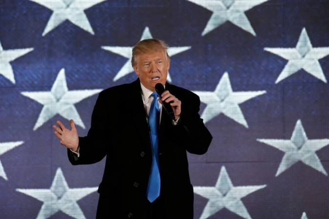 Melania Trump in Ralph Lauren per il Giuramento di Donald