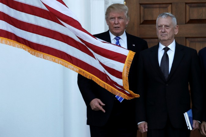 Usa, governo Trump: al Pentagono James Mattis, ex generale dei marine