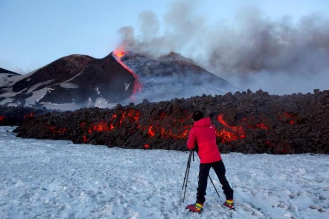 Sull'Etna la mappature delle colate laviche con i droni (VIDEO e FOTO)