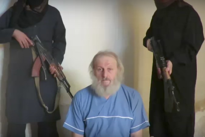 Italiano rapito in Siria riappare in video:
