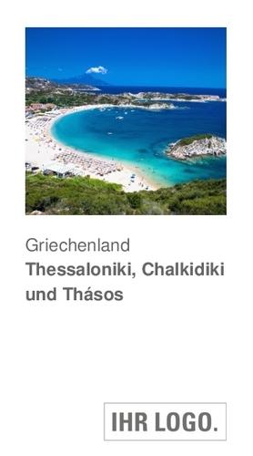 Griechenland Thessaloniki, Chalkidiki und Thásos Reiseführer