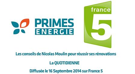 Primes énergie dans La Quotidienne de France5