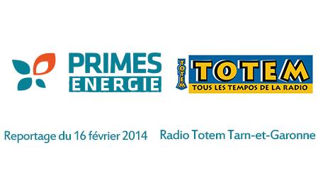 Primes énergie sur Radio Totem