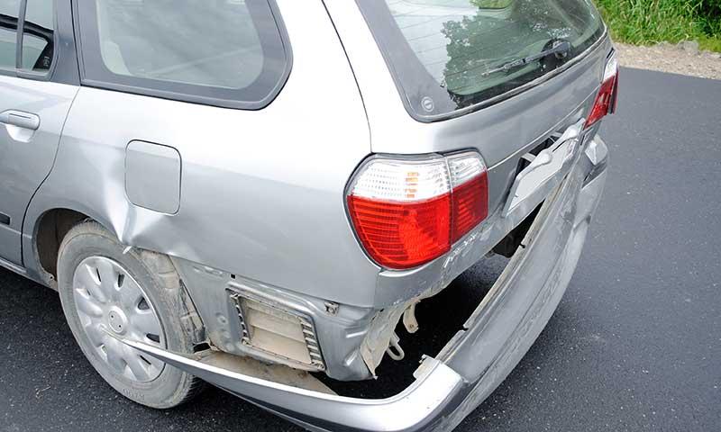 forse schade aan de carrosserie