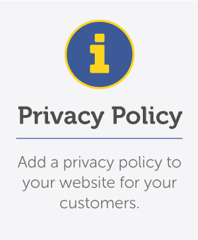 Add a privacy policy to your website