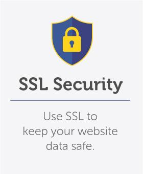 Use SSL Security