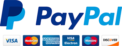 Payment options Paypal visa mastercard american express maestro discover