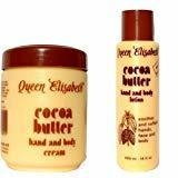 Queen Elizabeth Cocoa Butter Cream + body Lotion -500ml by Queen Elizabeth