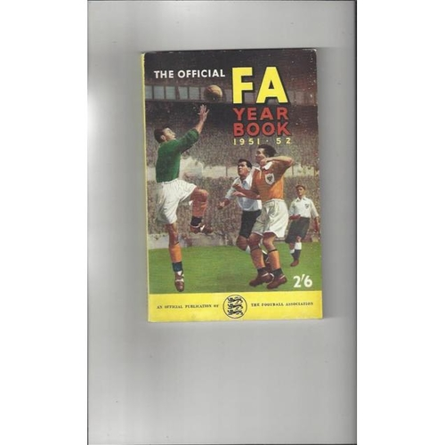 1951/52 The Official FA Year Book