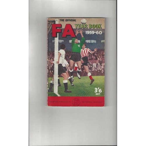 1959/60 The Official FA Year Book