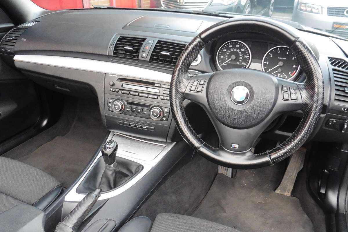 BMW 118i M Sport 2dr - Convertible - Half Leather Interior