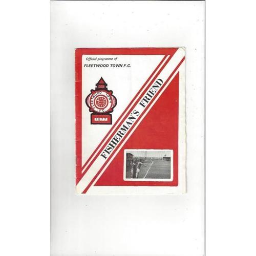 Fleetwood Town Home Football Programmes