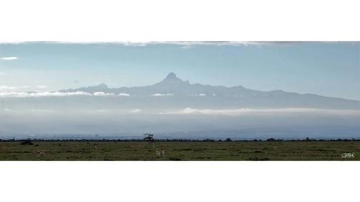 Mount Kenya from Ol Pejeta