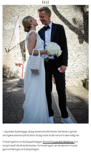 Celebrity Castle Wedding