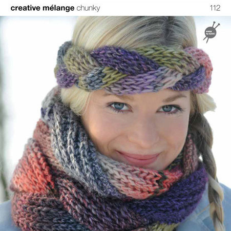 112 Creative Melange Chunky Pattern