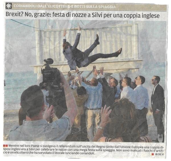 British Wedding Couples Choose Italy