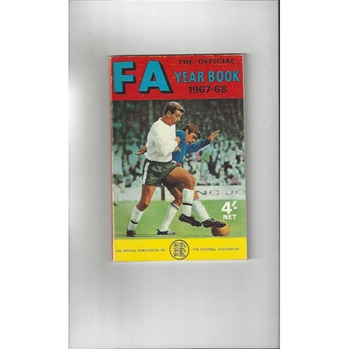 1967/68 The Official FA Year Book
