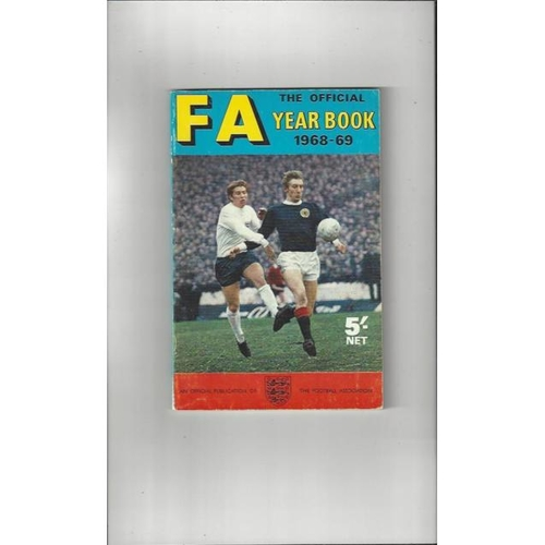 1968/69 The Official FA Year Book
