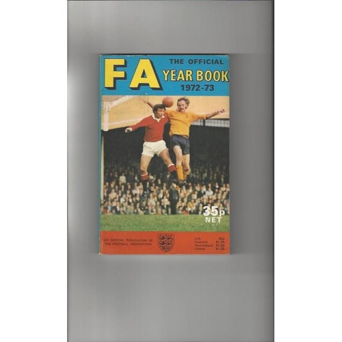 1972/73 The Official FA Year Book