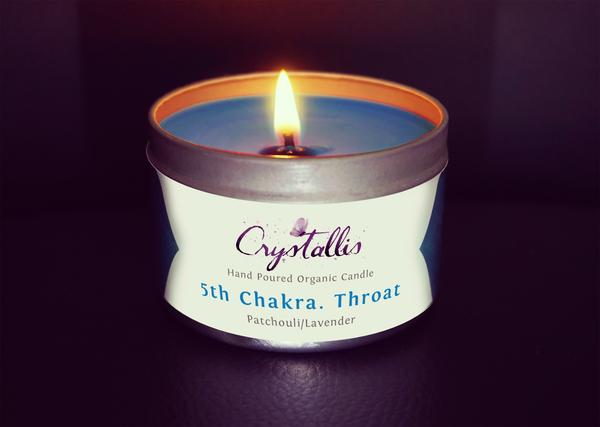 Focus on the Throat Chakra..