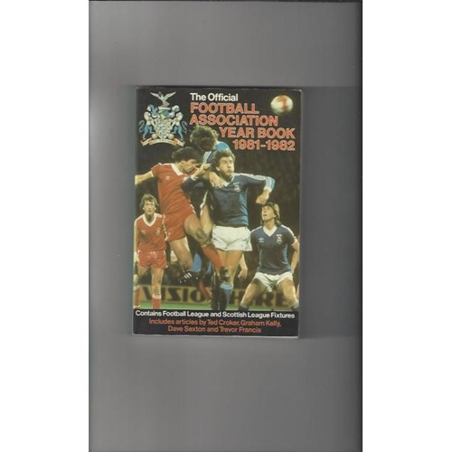 1981/82 The Official FA Year Book