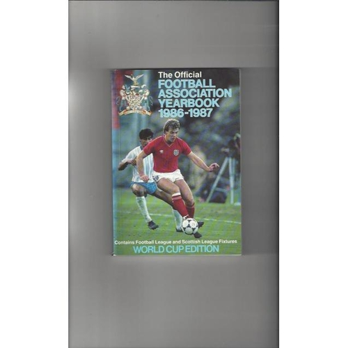 1986/87 The Official FA Year Book