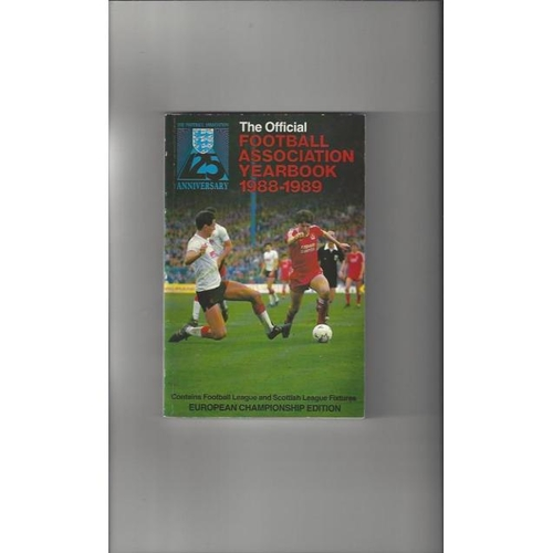 1988/89 The Official FA Year Book