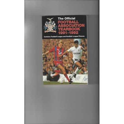 1991/92 The Official FA Year Book