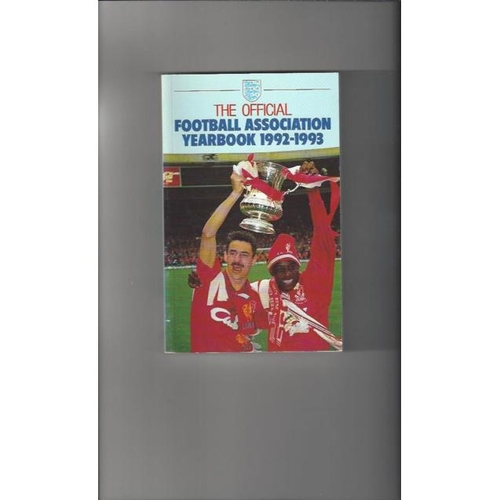1992/93 The Official FA Year Book