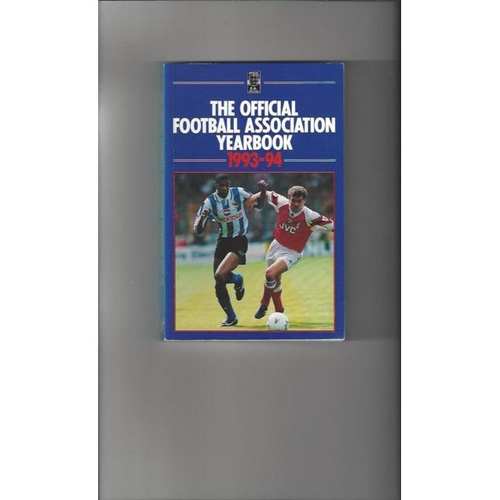 1993/94 The Official FA Year Book