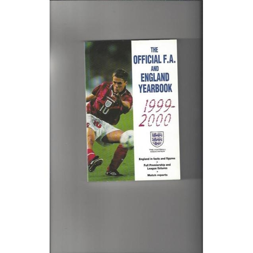 1999/00 The Official FA & England Year Book