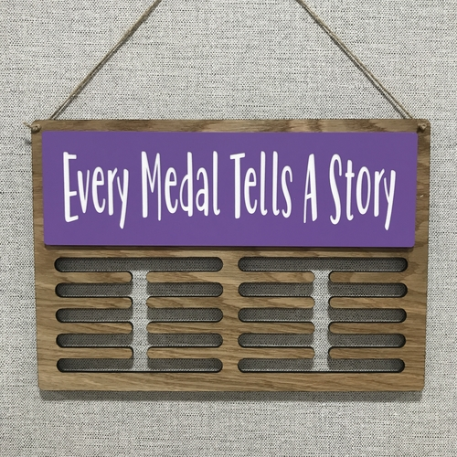 Medal display hanger