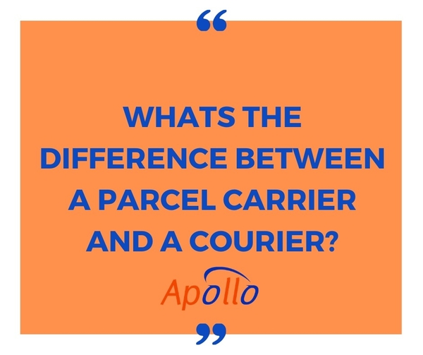 Whats The Difference Between a Parcel Carrier And A Courier?