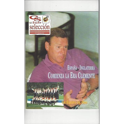 1992 Spain v England Spanish Football Magazine