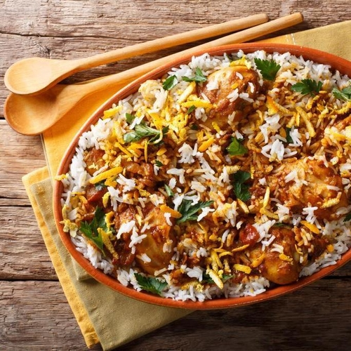 Chicken Biriyani Full Meal