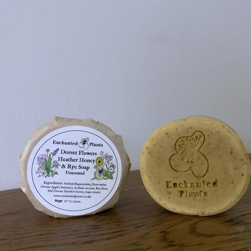 Dorset Flowers Honey and Rye Soap