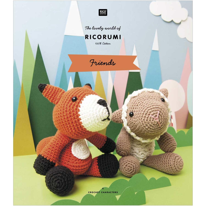 Sirdar Happy Chenille Crochet Amigurumi Toys Pattern Book 5 ... | 1500x1500