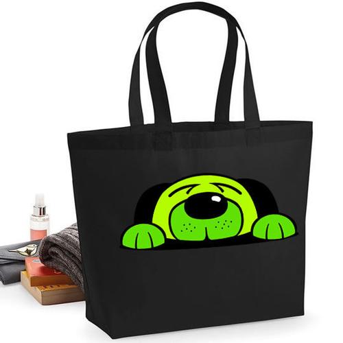 'Green Dog' Maxi Tote