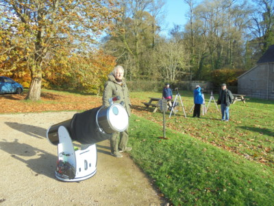 Transit of Mercury at Dyffryn Gardens - 11 November 2019