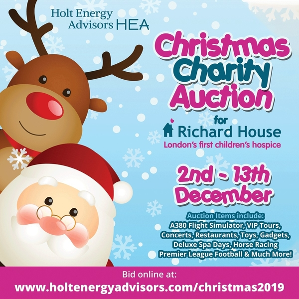 Our Christmas Charity Online Auction opens 9am tomorrow!
