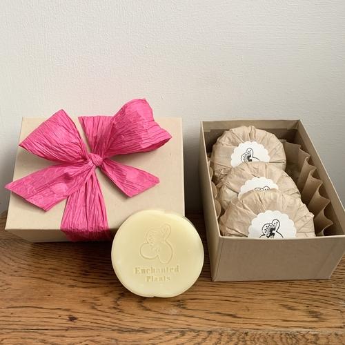 Rose geranium soap gift
