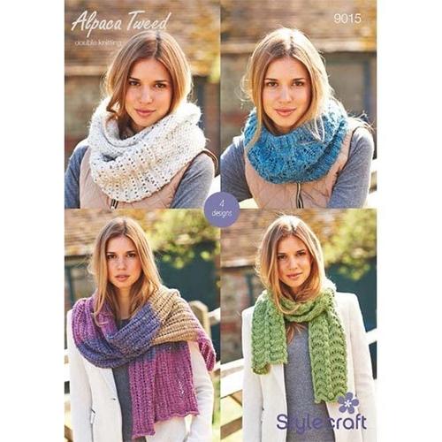 9015 Alpaca Tweed DK Pattern