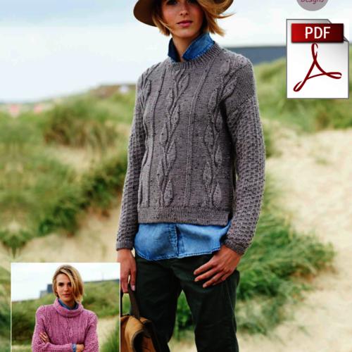 9211 Alpaca Tweed DK Pattern