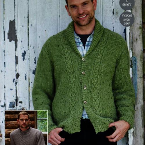9339 Alpaca Tweed DK Pattern