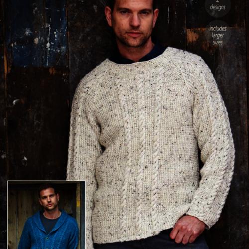 9340 Alpaca Tweed DK Pattern